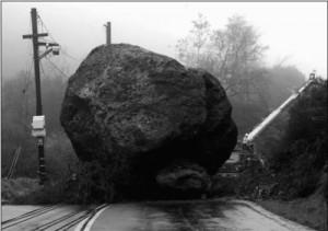 Menos da una piedra, aunque sea tan grande