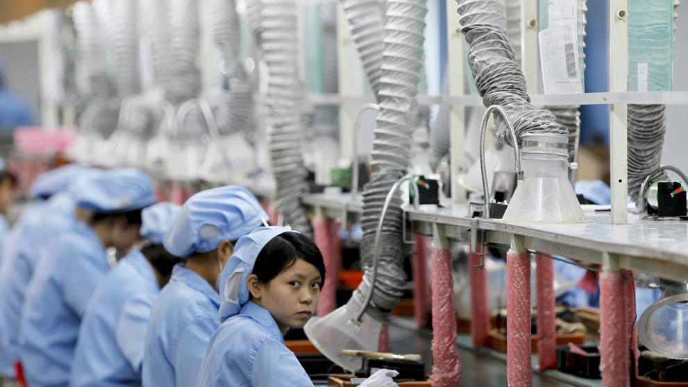 El crecimiento lento de China