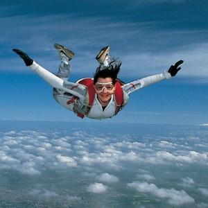 Al menos tú llevas paracaídas