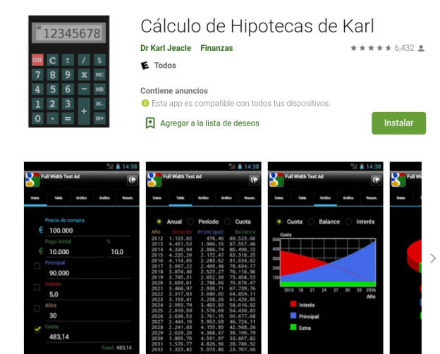 ¿Cómo calcular hipoteca desde el móvil?