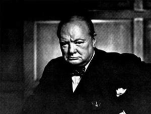 Sólo puedo prometer sangre, sudor y lágrimas. ¿Pero eso lo dijo Churchill o el director de un banco antes de conceder una hipoteca?