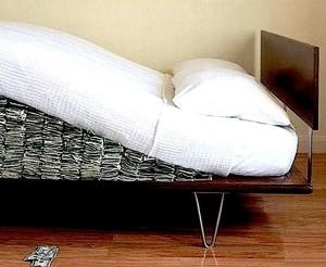 El mullido colchón que tienen algunos