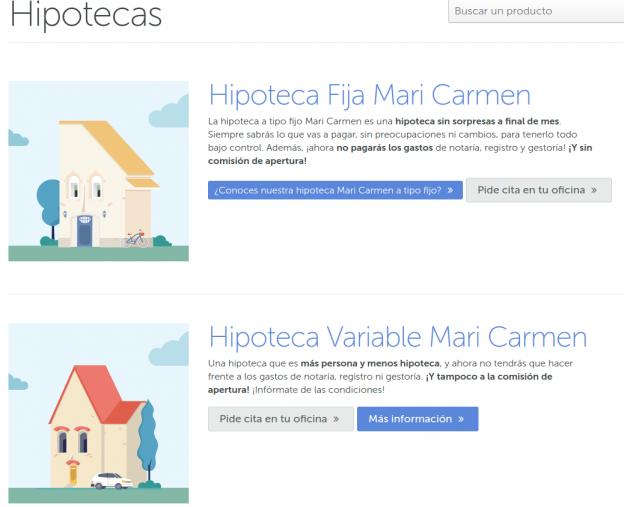 Hipotecas Mari Carmen de ABANCA