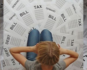 Cada vez es más difícil pagar las facturas