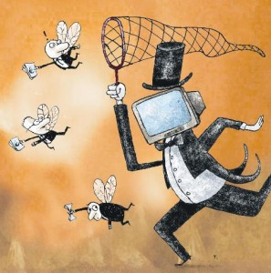 Cada vez más moscas se escapan de la red de los banqueros
