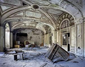 Ruinas de una Facultad de Económicas