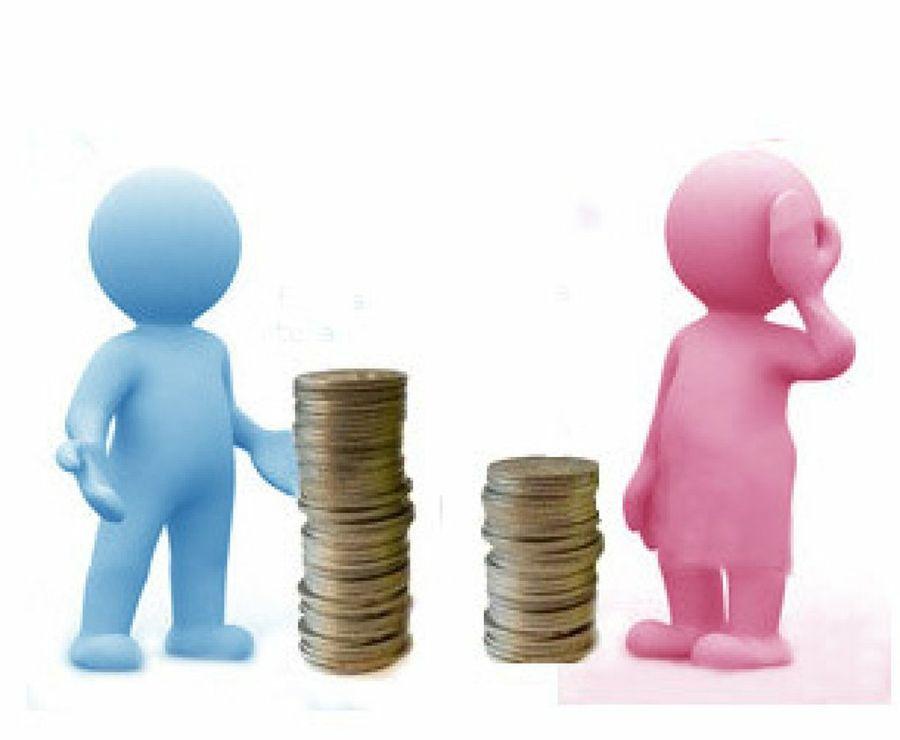 salario del hombre vs salario de la mujer