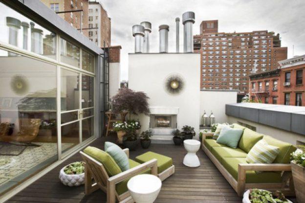 Viviendas con terraza o balcón